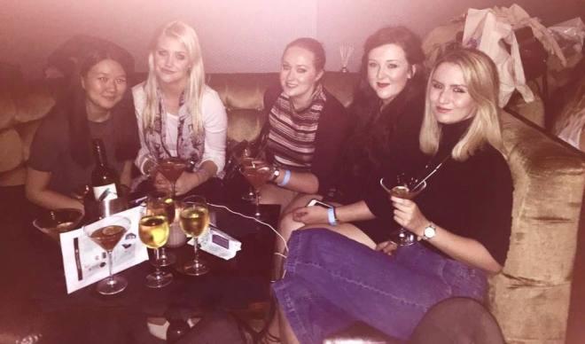 L-R: Urika, Jess, me, Anna, Maddie Photo credit Maddie
