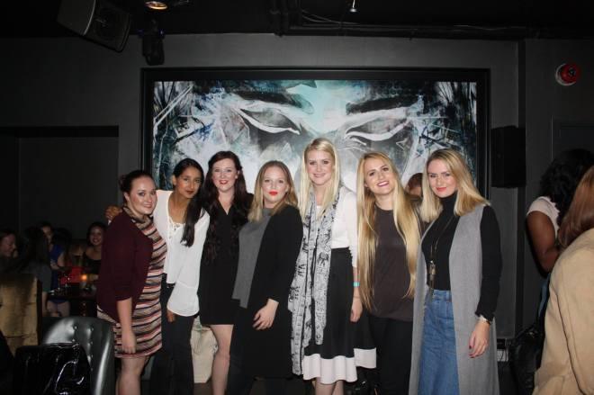 L-R: me, Tanya, Anna, Alice, Jess, Karis, Maddie Photo credit Jess